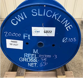 Well Measuring Line